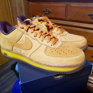Nike Air Force 1 Wheat Dark Mocha sz 11.5